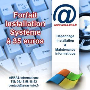 Offre Arras Informatique