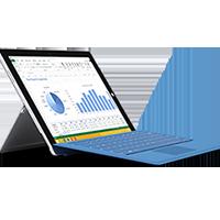 Réparation tablette Microsoft Surface Pro 3 par Arras Informatique et Mobile spécialisé en réparation de produits Microsoft dans le 62 - Pas de calais situé prés de Cambrai, Lens, Henin, Liévin, Douai.