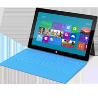 Réparation tablette Microsoft Surface RT par Arras Informatique et Mobile spécialisé en réparation de produits Microsoft dans le 62 - Pas de calais situé prés de Cambrai, Lens, Henin, Liévin, Douai.